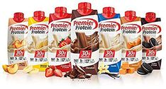 The Premier Nutrition Protein Shake is a great tasting, convenient way to get the protein your body needs. However, each Premier Protein Shake provides of your daily value for protein. Gluten Free: Yes. Premier Protein Shakes, Best Protein Shakes, Chocolate Protein Shakes, Chocolate Chocolate, Healthy Chocolate, Chocolate Cookies, Protein Foods, High Protein, Protein Smoothies
