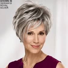 Image result for wigs for 60 year old woman
