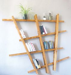 I ➨➨ ➨ On vous dit tout pour créer une étagère design en bois en un tour de main avec des matériaux naturels !