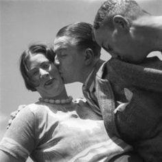 Bergen 1933, Charley Toorop, Eduard Mesens and Pyke Koch