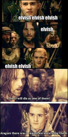 Lord of the rings is life Hobbit Funny, O Hobbit, Legolas Funny, Legolas And Thranduil, Aragorn, Jrr Tolkien, Saga, Funny Quotes, Funny Memes