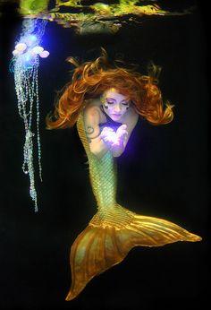 Twig the Fairy in Mermaid Form by gbrummett on Flickr.