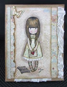Scraps From A Broad: Gorjuss Girls Cards