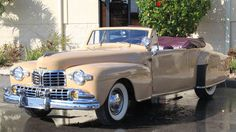 1947 Lincoln Continental Cabriolet - 1