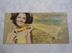 Vintage Sarah Coventry Catalog 1975 Summer by ChellesJewels, $20.00