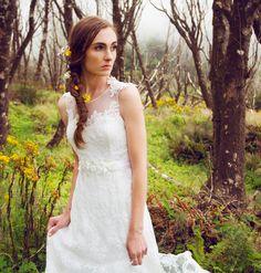 """Claire La Faye """"Sweet Jane"""" {ellebridalboutique.com}"""