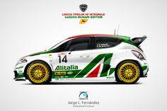 WRC Lancia Ypsilon HF Integrale: Homenaje a Sandro Munari