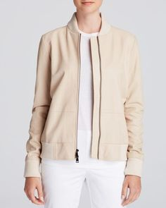 Vince Jacket - Leather Bomber