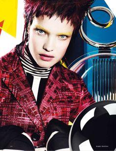 ☆ Natalia Vodianova | Photography by Mario Testino | For Vogue Magazine UK | December 2012 ☆ #nataliavodianova #mariotestino #vogue #2012
