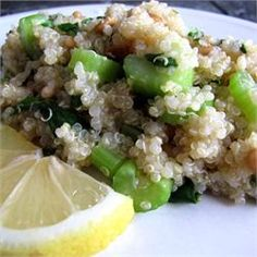 Lemony Quinoa - Allrecipes.com