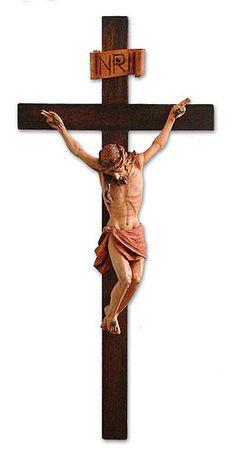 Handmade Crucifix Christianity Wood Cross Wall Décor