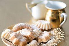 Kokosovo-medové pracny   Apetitonline.cz Christmas Baking, Christmas Cookies, Christmas Recipes, Apple Pie, Garlic, Cheesecake, Menu, Vegetables, Breakfast