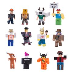 Bring the world of Roblox to life with these collectible toys and figures based on popular game. Watch out for great offers at Smyths Toys UK Roblox Funny, Roblox Roblox, Play Roblox, Camisa Nike, Kids Toys Online, Bling Party, Toys Uk, Toy Sale, Toys For Girls