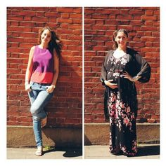 #PushWears supporting #RedLippyProject this week! Naomi and Robyn in pops of pink and purple with red lip #tiw #wiwt #ootd #fashion