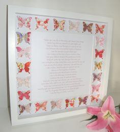 Original Personalised Wedding Gift Idea