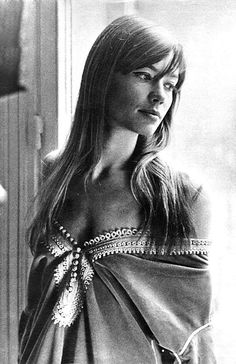 """""""I am not comfortable with my professional life, really, so the word 'icon' - it's as though you were talking about someone else. It's not me, really… I feel happy when I'm on my bed, in my room, with a good book.""""  -Françoise Hardy"""