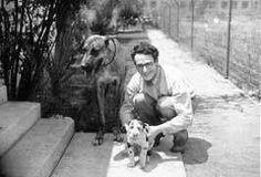 He was a dog lover, just like me!