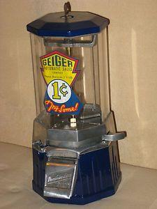 VINTAGE Northwestern 33 Junior gum or peanut vending machine or gumball RARE