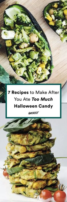 Sugar hangovers are real. #greatist https://greatist.com/eat/healthy-recipes-to-make-after-eating-too-many-sweets