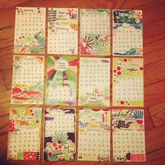 beautiful calendar