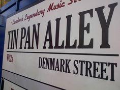 Londons Tin Pan Alley: die Denmark Street