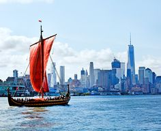 Photo of the Week: World's Largest Viking Ship Docks in NYC