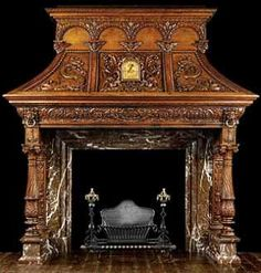 ~ Westland London ~ | Extraordinary Antique Mantel's | standout-fireplace-designs.com