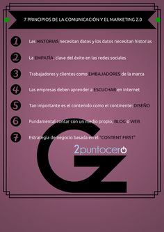 7 principios de la comunicación y el marketing 2.0