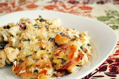 What's Cookin, Chicago?: Spinach Artichoke Mac & Cheese