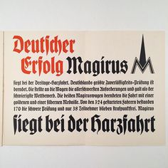 Sample from the Neu-fraktur (Rudolf Koch), specimen book. c.1936