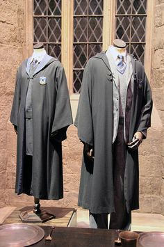 Potter frenchy party - Costumes : l'uniforme d'un élève à Poudlard - cosplay Harry Potter - Hogwarts uniform - ravenclaw