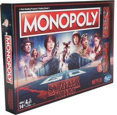 A Monopoly game inspired by the Netflix Original Series, Stranger Things, Will Byers has gone missing. - See more unique gifts ideas. Stranger Things Tumblr, Stranger Things Quote, Stranger Things Aesthetic, Eleven Stranger Things, Stranger Things Netflix, Hotel Card, Indiana, Will Byers, Harry Potter