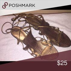 Sandal Bronze sandal Valerie Stevens Shoes Sandals