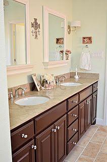 master bathroom-mirrors & lights
