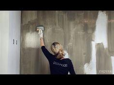 Wanden schilderen met kalkverf - Parvani - Carte Colori - YouTube