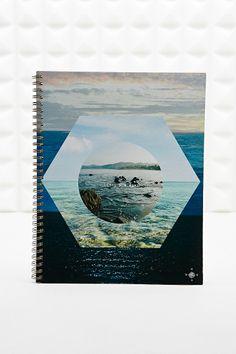 Ocean Hexagon Notebook