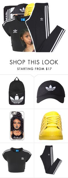 """There's a blessing in the storm"" by shilohluvsu ❤ liked on Polyvore featuring Topshop, adidas Originals, Casetify and adidas"