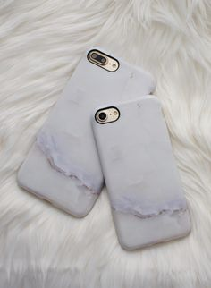 All white everything ⚪️ Ivory Marble for iPhone 7 & iPhone 7 Plus from Elemental Cases