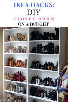 DIY Closet Room on a Budget