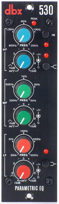 Dbx 530 Parametric EQ