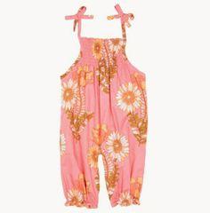 Nelly Romper, Pink Chicken #floral