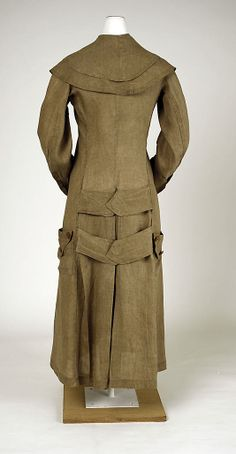 DusterDuster Date: ca. 1910 Culture: American Medium: linen