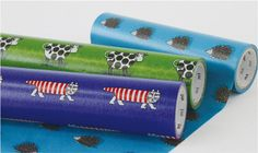 mt Wrap  Washi Wrapping Paper  Mikey the Cat Iggy by craftyjapan, $17.50