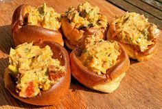 Chorizo & Spring Onion Stuffed Yorkshire Puddings - Jo's Kitchen