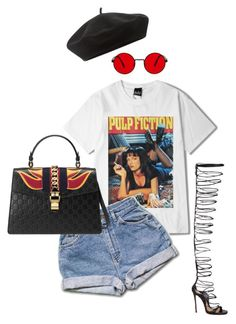 """""""Untitled #374"""" by milly-oro on Polyvore featuring Accessorize, Dsquared2 and Gucci"""