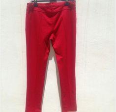 Pantalon Rojo Estrecho