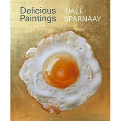 this video is about a golden fried egg painting Tjalf Sparnaay, Online Painting Classes, Prismacolor, Panna Cotta, Cool Art, I Am Awesome, Eggs, Make It Yourself, Ethnic Recipes