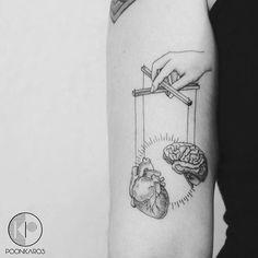 305 melhores imagens de Heart and Brain Tattoos ♡ em 2019