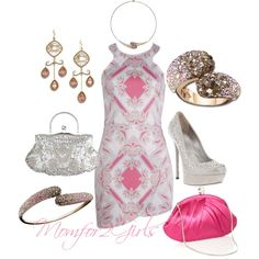 """""""So Delicate and Fancy"""" by momfor2girls on Polyvore"""