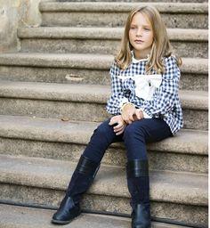 Blusón cuadros vichy | Aiana Larocca